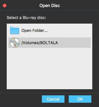 Open Disc Mac