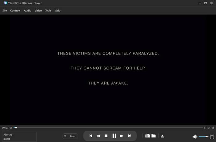 Play Blu-ray Video
