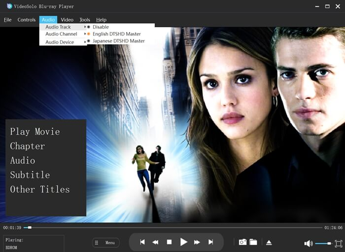 Select Audio Track