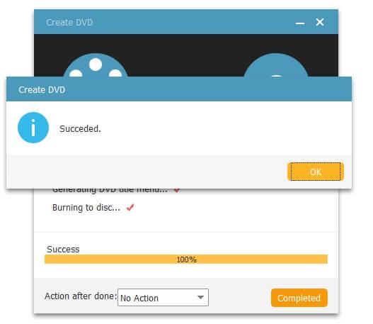 Burn MPEG Videos to DVD