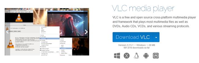 VLC公式サイト