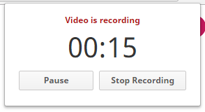 録音を停止