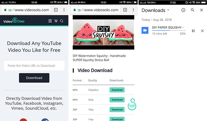 Download YouTube Video in Android
