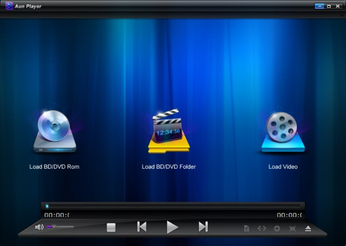 Play Blu-ray with Aun Player
