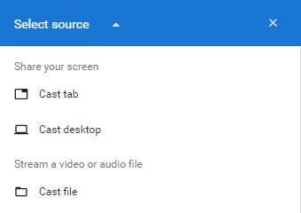 Cast File from Chrome to Chromecast