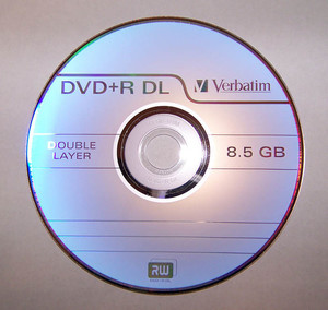 DVD9 is Double Layer