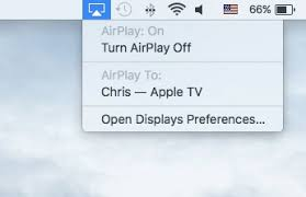 Mirror Mac Screen to Apple TV by AirPlay