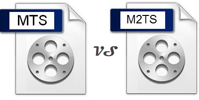 MTS VS M2TS