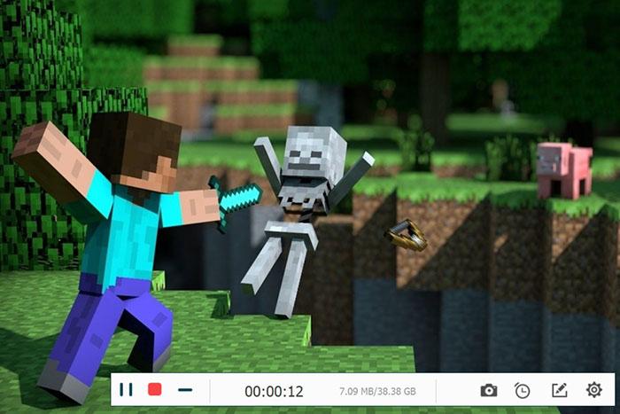Recording Minecraft