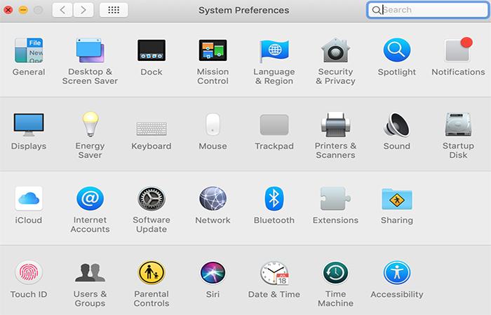 System Preferences Sound