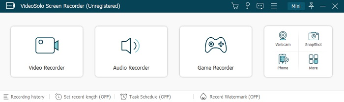 Choose Audio Recorder