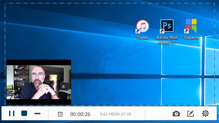 Turn on the Webcam
