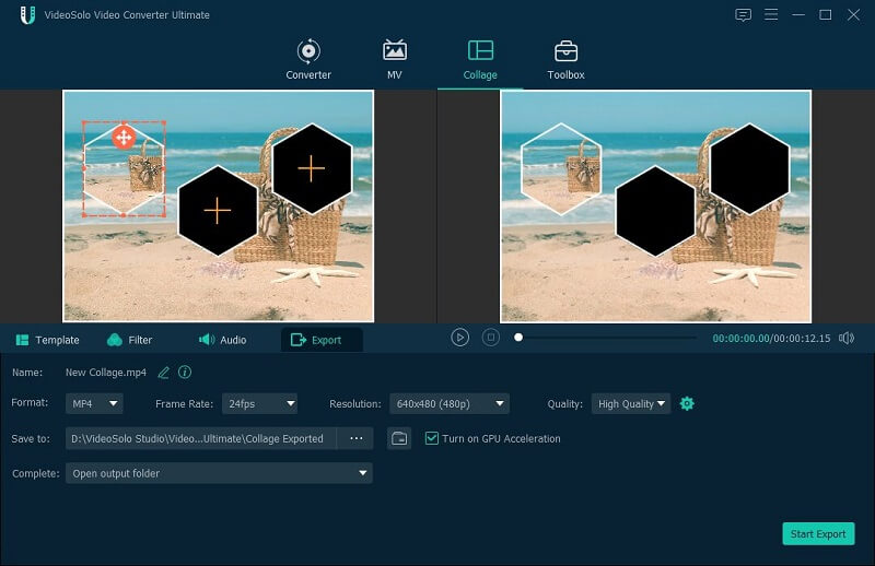 Collage Export