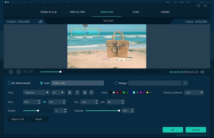 Videosolo Video Converter Ultimate 1.0.8 Serial Key